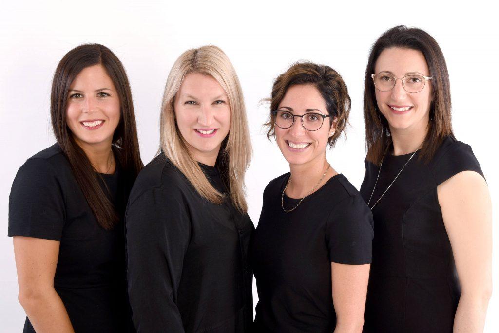 Éliane Bies, Julie Crevier Propriétaire, Mylène Vary Marcotte et Geneviève Lemire